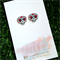 Buy 3 get 4th FREE - Sugar Skull Earrings